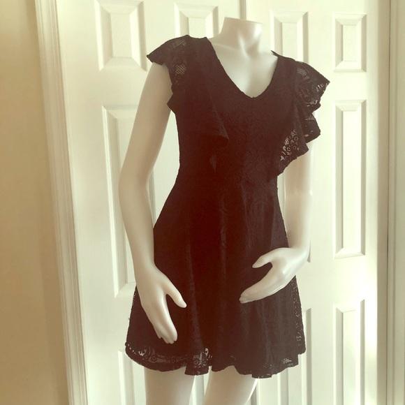 miami Dresses & Skirts - Miami Black Lace Dress XS